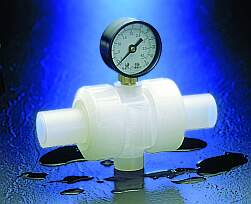 GGMU zero dead-leg design is ideal for deionized water and other high purity processes